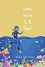 Let's learn A, B, Sea! (English Edition)