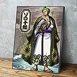YWOHP Poster su Tela Una Decorazione Domestica Anime Cool Painting HD stampabile Soggiorno Immagine Parete opere d'Arte