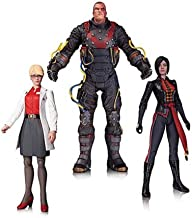 DC Collectibles Batman: Arkham Origins: The Electrocutioner Dr. Harleen Quinzel and Lady Shiva Action Figure (Pack of 3)