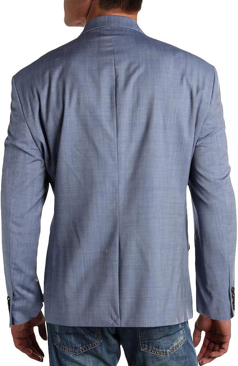 LAUREN RALPH LAUREN Mens Loomis Wool Business Two-Button Suit Jacket