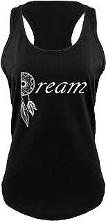 Comical Shirt Ladies Dream Dream Catcher Graphic Tee Love Dream Racerback