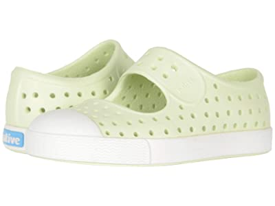 Native Kids Shoes Juniper (Toddler/Little Kid) (Cucumber Green/Shell White) Girls Shoes