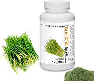 Sponsored Ad - [Medicinal Herbal Powder] Prince Natural Barley Sprout Powder/프린스 보리새싹분말, 4.4oz / 125g (Barley Sprout/보리새싹)