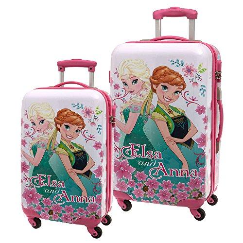 Die Eiskönigin ABS Koffer-Set, Pink