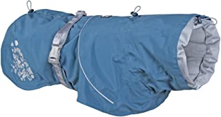 Hurtta Monsoon Coat, Dog Raincoat, Bilberry, 32 in