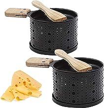Piasnhaoah4 Raclette à la Bougie - Faites Fondre Votre Fromage en 3 Minutes - A Table, Devant la télé ou même en Pique Niq...