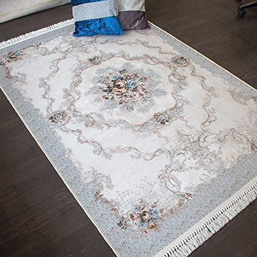 Teppich Brillant Teppich 130 x 190 cm rutschfest pflegeleicht top Qualität Kayra 802