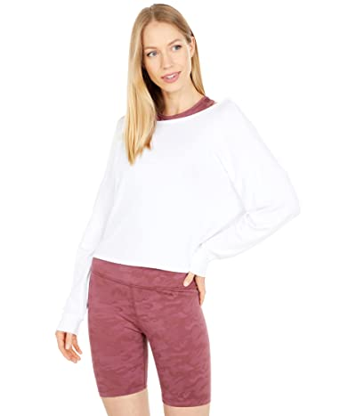 Beyond Yoga Do The Twist Cropped Pullover