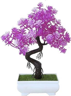 Black Temptation Plantas Falsos Falsos Plantas Flores Artificiales Planta carnosa Falso Artificial de la Hierba Verde de Las Plantas