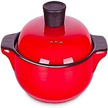 Keramische Braadpan Rijstkoker, Aarden Pot, Japanse Aardewerken Pot Rijstpot, Hittebestendige SLOW-stoofpot, Niet-stick So...