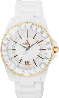[ヴィヴィアン・ウエストウッド]VivienneWestwood 腕時計 スローン シルバー文字盤 セラミック/ステンレス(YGPVD) VV048RSWH 【並行輸入品】