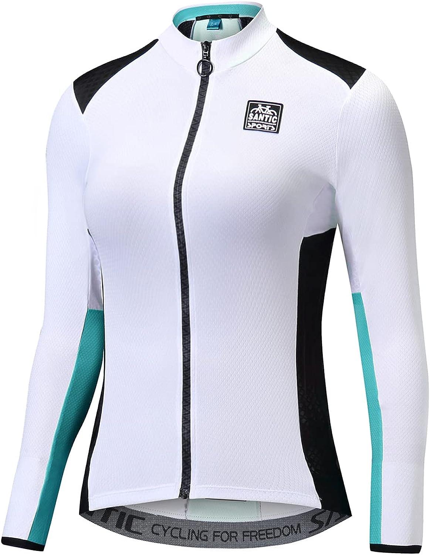 Santic Cycling Sale Jersey Women's Sale Special Price Long Tops Bicyc Shirts Sleeve Bike
