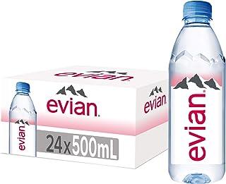 Evian Natural Mineral Water - 24 X 500ml