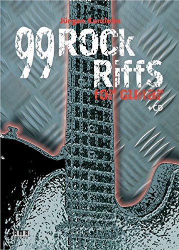99 Rock-Riffs for Guitar