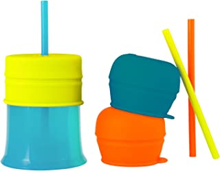Boon Baby-Boys Snug Straw with Cup