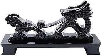 Houten zwaardhangerhouder Katana Wakizashi Tanto Samurai Sword Displayy Stand, 8inchdragon Zwaardstandaard (Color : 8inchd...
