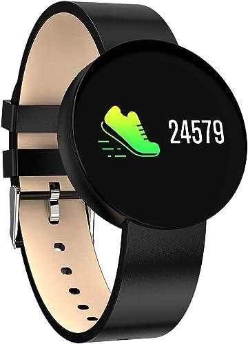 YTBLF Bracelet De Sport Imperméable à l'eau Technologie Smart noir Technologie Surveillance De La Santé Bracelet De Tension Artérielle Bracelet Smart Couleur De L'écran