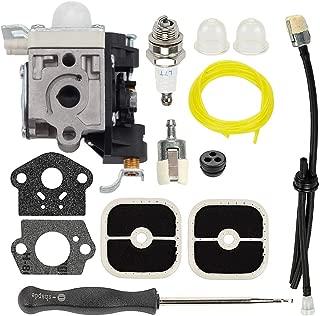 Hayskill PB-251 PB-265L Carburetor w Air Filter Fuel Line kit Spark Plug Primer Bulb for ZAMA RB-K85 Echo PB-265LN Power Blower Carb Replace A021001350 A021001351 A021001352