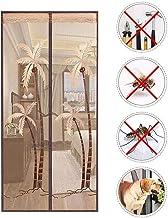 Anti-muskietenbuggaas gordijn voor terras, opgewaardeerde schermdeur, deur, glasvezel magnetisch scherm deur met volledige...