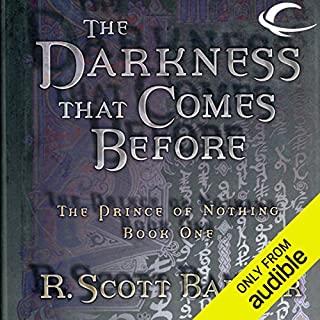 The Darkness That Comes Before     The Prince of Nothing, Book One              Autor:                                                                                                                                 R. Scott Bakker                               Sprecher:                                                                                                                                 David DeVries                      Spieldauer: 20 Std. und 44 Min.     11 Bewertungen     Gesamt 4,2