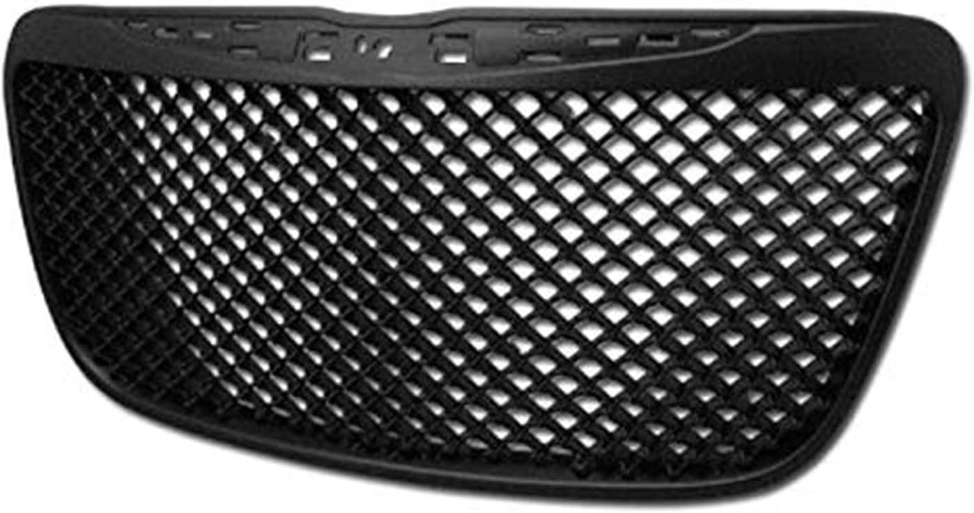 HS Power Black Tampa Mall Front Grill Sport Mesh Hood Popular product Bumper Cover A Grille