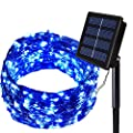 Solarmks Solar String Lights Outdoor Decorative Christmas Lights ?Solar Fairy Lights for Holiday Party Garden …