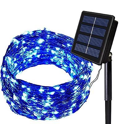Solarmks Solar String Lights Outdoor Decorative Christmas Lights ?Solar Fairy Lights for Holiday Party Garden ...