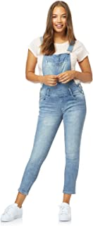 Women's Juniors InstaStretch Denim Overalls