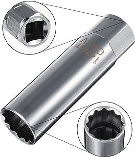 RENCALO Unidad de bujía de 14 mm 3/8 Llave de Pared Delgada