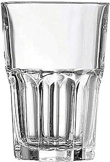 Arcoroc J2607 Granity, Pack de 6 gobelets , Verre trempé, Transparent, 35 cl