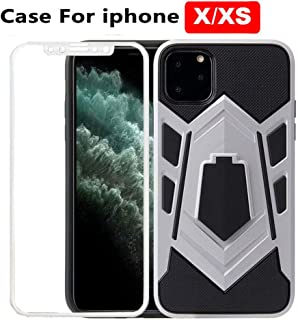 iphone xs cases with screen protector