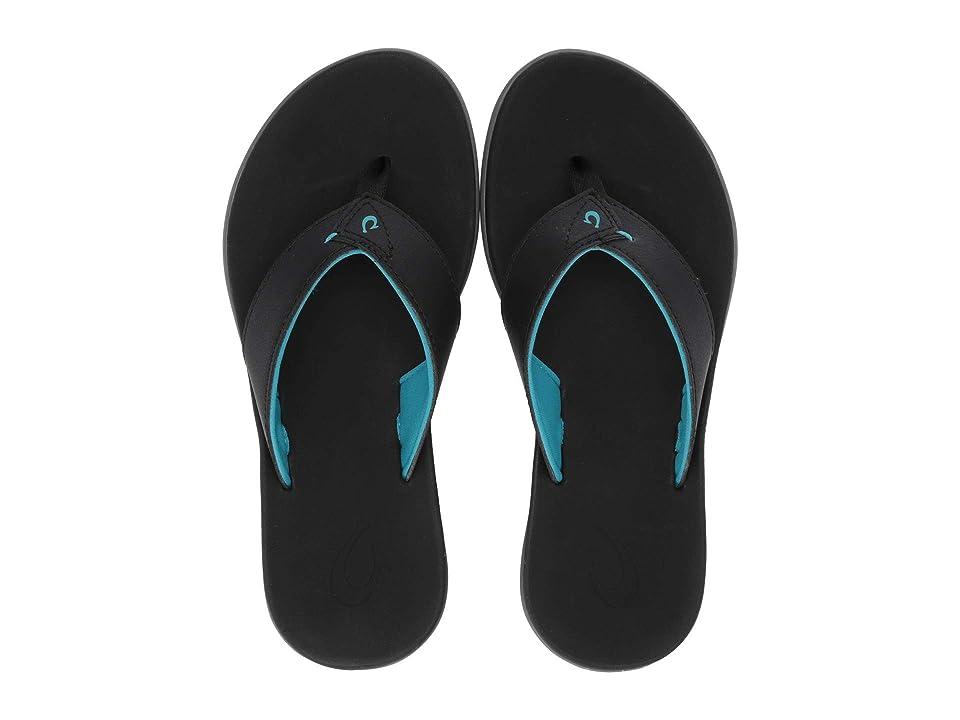 OluKai Kids Niau  Shoes (Toddler/Little Kid/Big Kid) (Black/Black) Boys Shoes