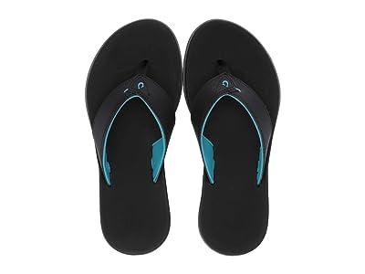 OluKai Kids Niau (Toddler/Little Kid/Big Kid) (Black/Black) Boys Shoes