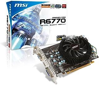 MSI ATI Radeon HD 6770 Graphics Card (1GB, DVI, HDMI, VGA)