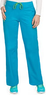 Med Couture Drawstring Signature Scrub Pants for Women