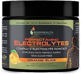 PerfectAmino Electrolytes - Orange Slice Flavor (50 Servings): Complete Electrolyte Powder with Perfect Amino, Sugar Free