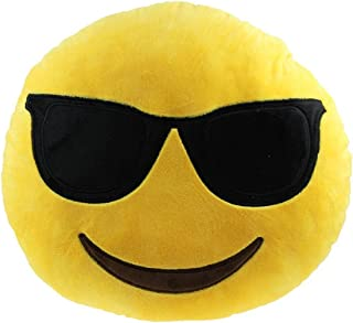 Rolling Buy Emoji Plush Pillows (Sunglasses)