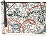 Tous Clutch Km, Cartera de mano para Mujer, Multicolor (Multicolor 995810413), 25x18x2.5 cm (W x H x L)
