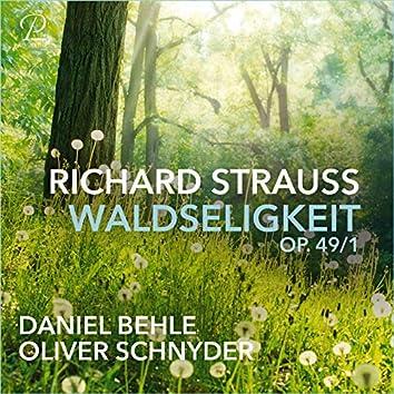 Waldseligkeit, Op. 49, No. 1