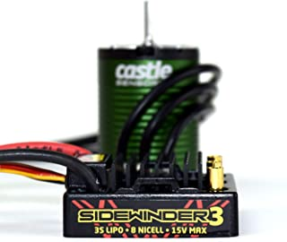 Castle Creations Sv3 Waterproof 1:10Th 12V Esc & 1406-4600 Sensored Motor