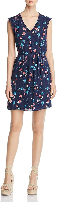 Daniel Rainn Womens Sleeveless Mini Tunic Dress