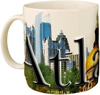 Americaware - City of Atlanta Souvenir Ceramic Coffee Mug / Cup - 18oz