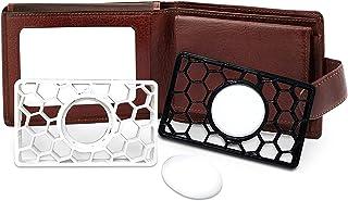2 Pakketten Voor Apple Airtag Wallet Case Beschermhoes Creditcardformaat Portemonneehouder, Portemonneehoesje Voor Apple A...