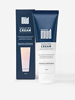 MensXP MUD Shaving Cream With Cupuacu Butter and Cocoa, 100 gm