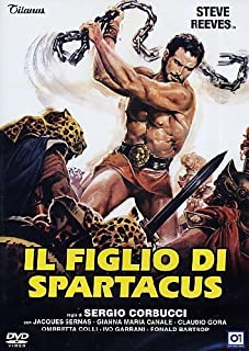 Il Figlio Di Spartacus by steve reeves