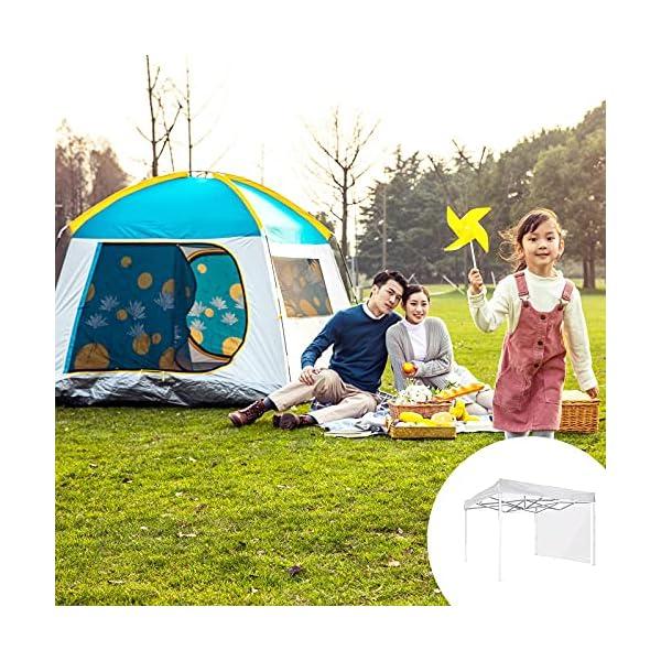 AHNUNVA Toldo desplegable instantáneo para terraza, jardín, camping
