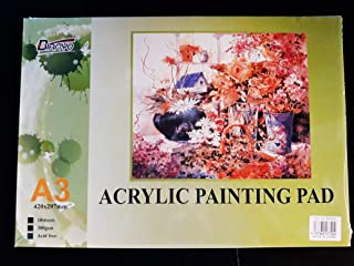 A3 Acrylic Painting Book 300GSM