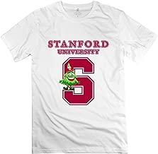 WTEE Geek Design WXTEE Men's Stanford University T Shirt White