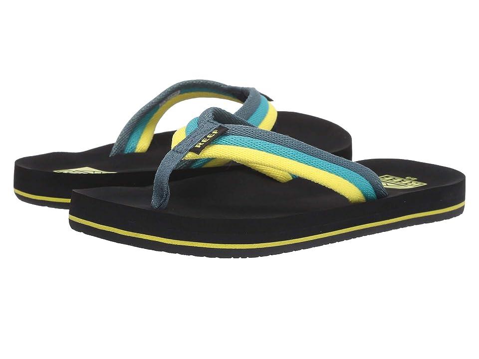 Reef Kids Ahi Beach (Little Kid/Big Kid) (Blue/Green) Boys Shoes