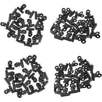 20 Stück 31mm Papierklemme FoldBack Klemmen Papier Metall Binder Clips für